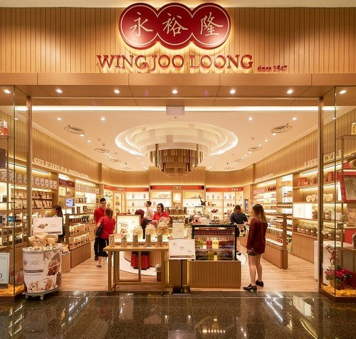 Wing Joo Loong store at Jurong Point mall in Singapore.