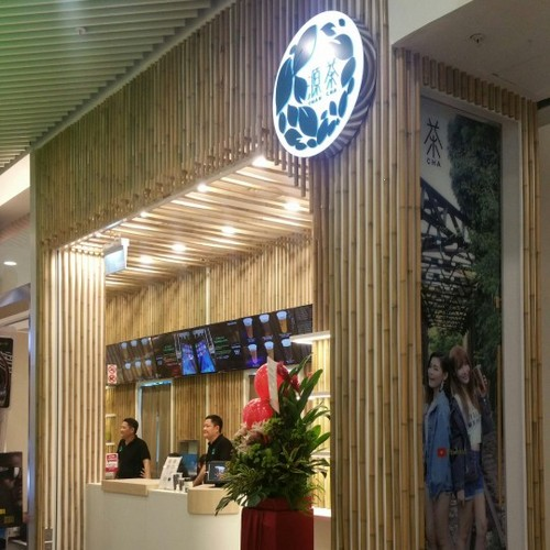 Yuan Cha tea house at Jurong Point shopping centre in Singapore.