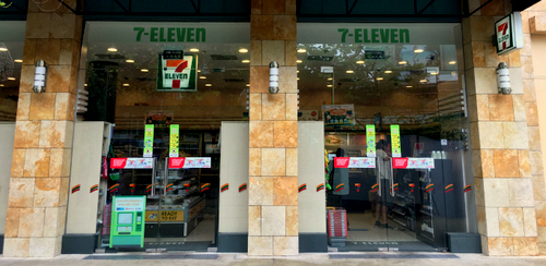 7-Eleven convenience store at Resorts World Sentosa in Singapore.