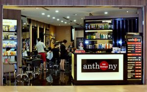 Anthony Hair Boutique at Tampines 1 shopping centre in Singapore.