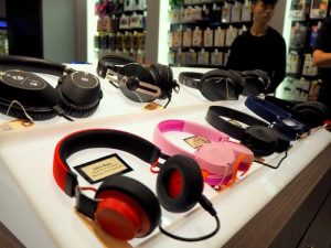 ConnectIT headphones, available in Singapore.