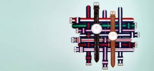 Daniel Wellington watches, available in Singapore.