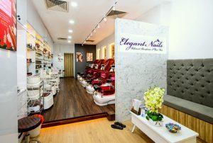 Elegant Nails nail & beauty salon in Singapore.