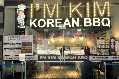 I'm Kim Korean BBQ restaurant at School of Arts in Singapore.