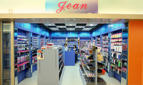Jean Accessories shop at Kovan Heartland Mall in Singapore.