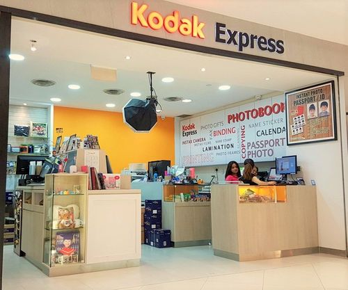 Kodak Express photo lab at Lot One Shoppers' Mall in Singapore.