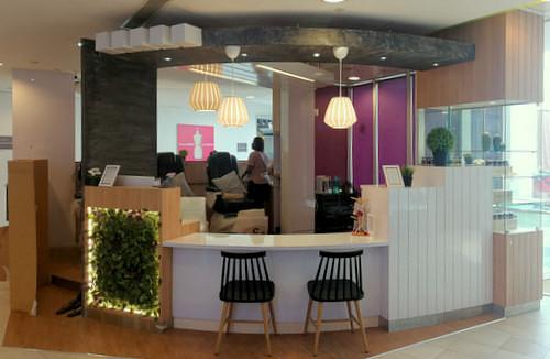 Nails & Good Company nail salon at Tampines 1 mall in Singapore.