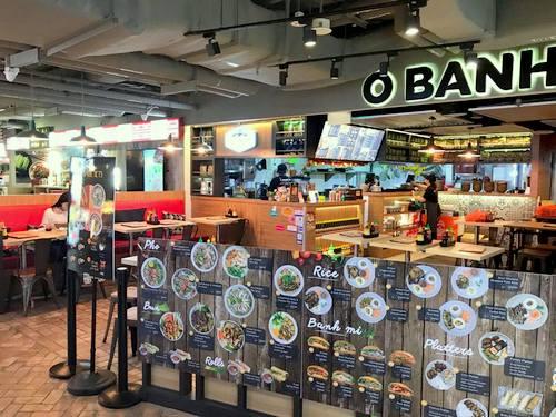 O Banh Mi Vietnamese restaurant at Tiong Bahru Plaza mall in Singapore.