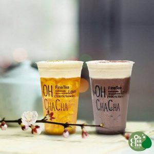 OH CHA CHA tea, available in Singapore.