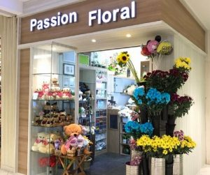 Passion Floral shop at Lot One Shoppers' Mall in Singapore.