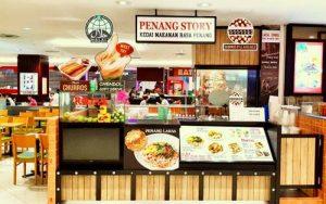 Penang Story Malaysian restaurant in Singapore.