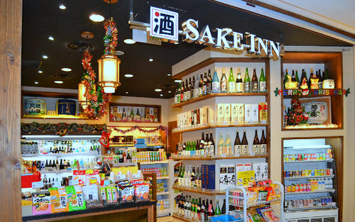 Sake Inn liquor store at Tampines 1 shopping centre in Singapore.