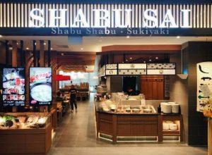 Shabu Sai Japanese restaurant at NEX shopping centre in Singapore.