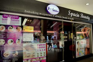 Spacio Beauty salon at Toa Payoh in Singapore.