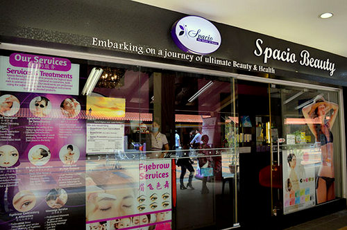 Spacio Beauty salon at Toa Payoh in Singapore.