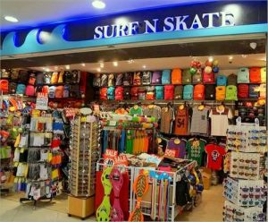 Surf N Skate shop at Lot One Shoppers' Mall in Singapore.