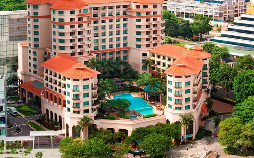 Swissôtel Merchant Court Hotel in Singapore.
