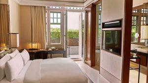 Terrace Room at The Capitol Kempinski Hotel Singapore.