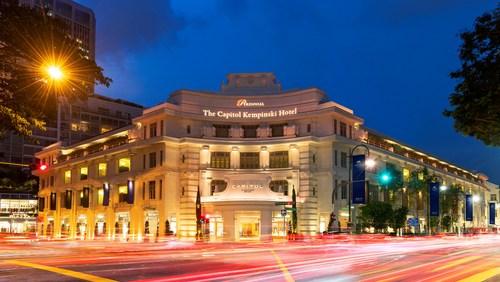 The Capitol Kempinski Hotel Singapore.