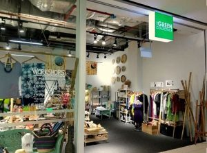 The Green Collective SG store at Kinex mall in Singapore.