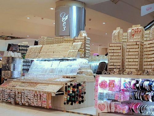 YES Accessories shop at Lot One mall in Singapore.