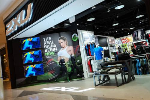 2XU store at Suntec City mall in Singapore.