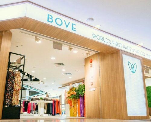 BOVE by Spring Maternity store at Suntec City mall in Singapore.