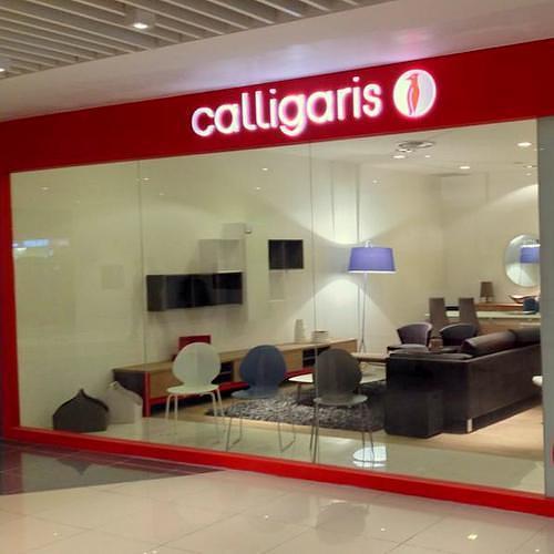 Calligaris furniture store in Singapore.
