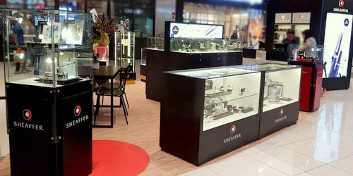 Cross & Sheaffer pen store at Suntec City mall in Singapore.