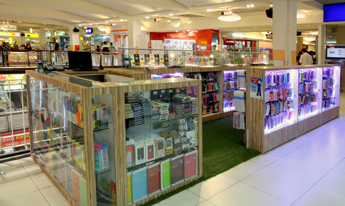 Gadget Hub electronics store at Heartland Mall in Singapore.