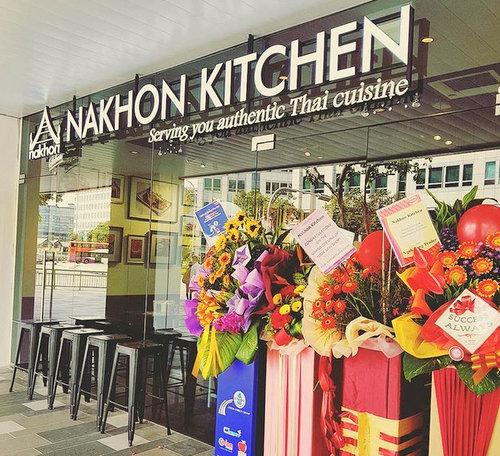 Nakhon Kitchen Thai restaurant at Century Square shopping centre in Singapore.