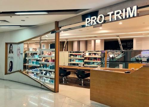 Pro Trim Hair Salon at Causeway Point mall in Singapore.