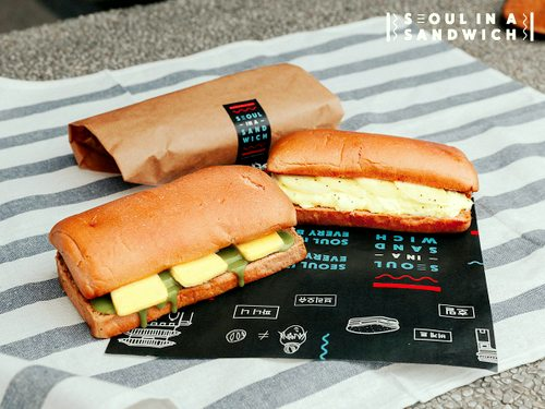 Seoul in s Sandwich sandwich meal, available in Singapore.