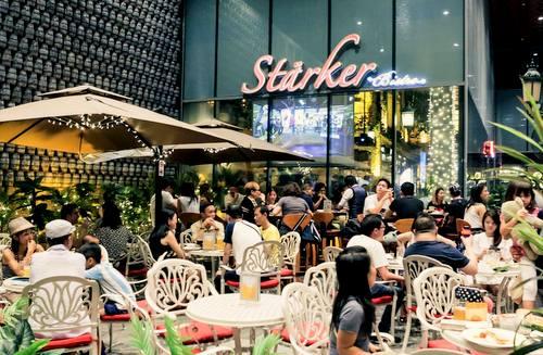Stärker Bistro German restaurant at Katong Square in Singapore.