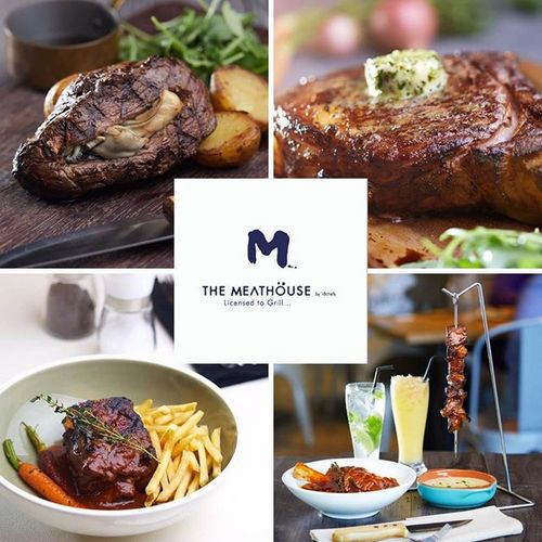 The MeatHöuse by 18 Chefs restaurant at Century Square mall in Singapore.