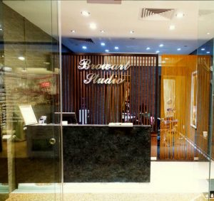 Brow Art Studio beauty salon at 112 Katong shopping centre in Singapore.