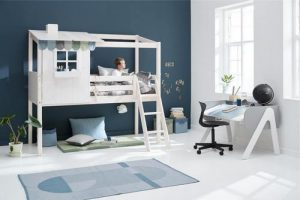 FLEXA Classic Playhouse Bed, available in Singapore.