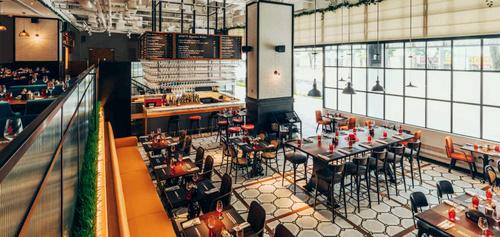 Ginett Restaurant & Wine Bar at Hotel G Singapore.