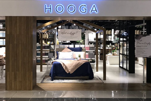 Hooga shop at Suntec City mall in Singapore.