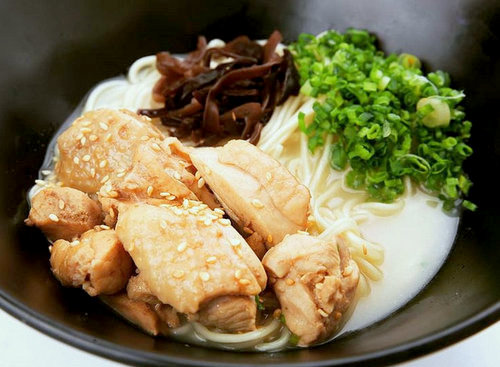Kure Menya's Chicken Sukiyaki Ramen, available in Singapore.