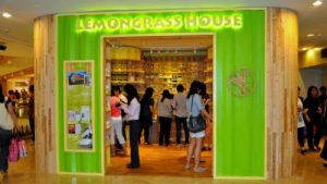 Lemongrass House store at Raffles City mall in Singapore.