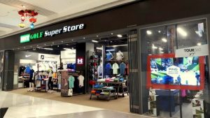 MST Golf Superstore at Suntec City mall in Singapore.