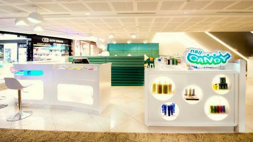 Nail Candy nail salon at 112 Katong shopping centre in Singapore.