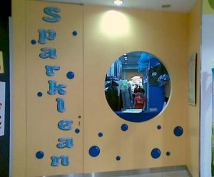 New Sparklean Laundry at Bukit Panjang Plaza mall in Singapore.