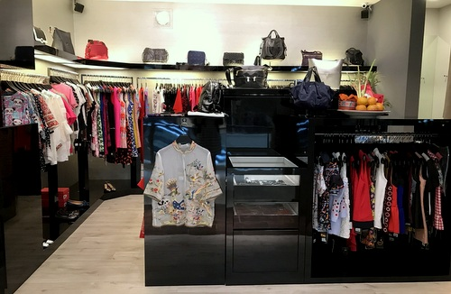 Only Luxury Collection clothing shop at Parkway Parade mall in Singapore.