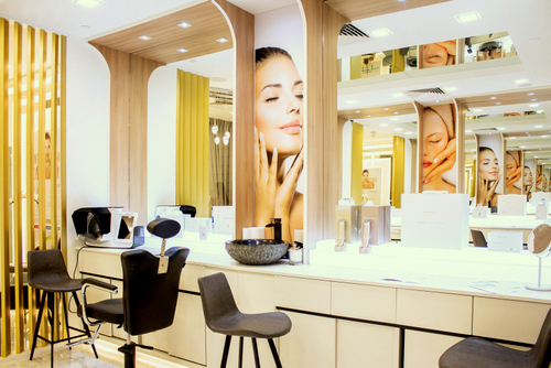 Opatra beauty store & salon in Singapore.