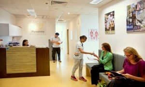 PhysioActive physiotherapy clinic in Singapore.