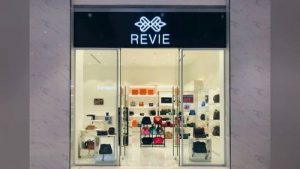 Revie store at Suntec City mall in Singapore.