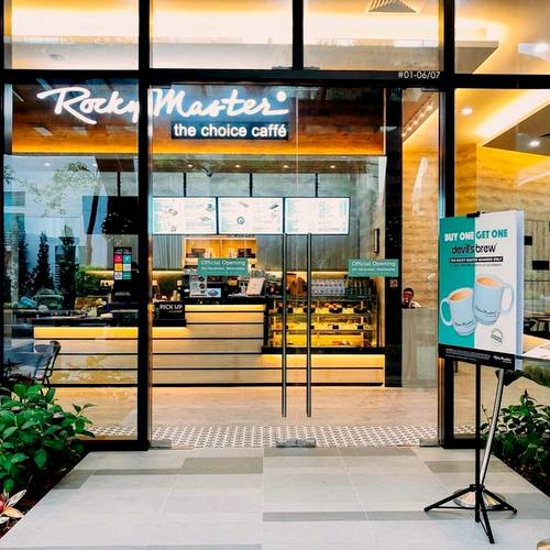 Rocky Master cafe-restaurant at Alexandra Technopark in Singapore.