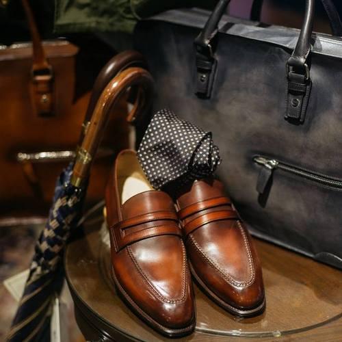 Straits Establishment men's shoes & accessories, available in Singapore.